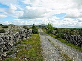 A 'Green Road' in the Burren